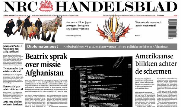 Oplages NRC Handelsblad en nrc.next blijven groeien, Mediafacts, MediaFacts