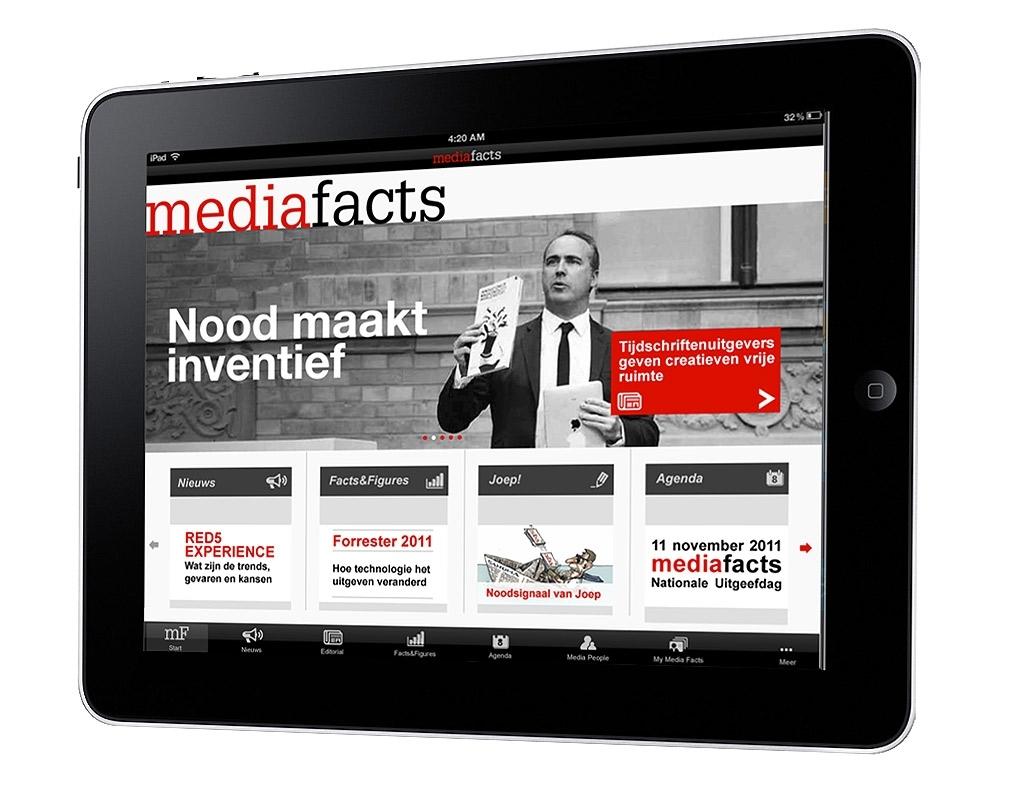Mediafacts nu beschikbaar op de iPad!