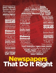 10 Newspapers That Do It Right 2012, Mediafacts, MediaFacts