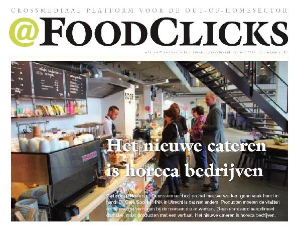Vakmedianet sluit strategische samenwerking met @FoodClicks