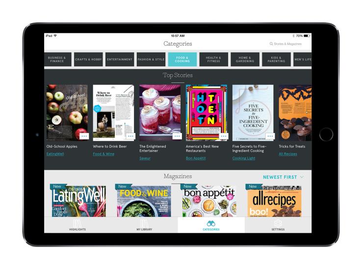 Apple neemt digitale tijdschriftendienst Texture over, Hans van der klis, MediaFacts