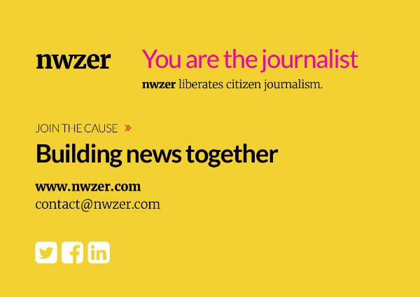 Nwzer gebruikt blockchain om burgerjournalistiek nieuw leven in te blazen, Hans van der klis, MediaFacts