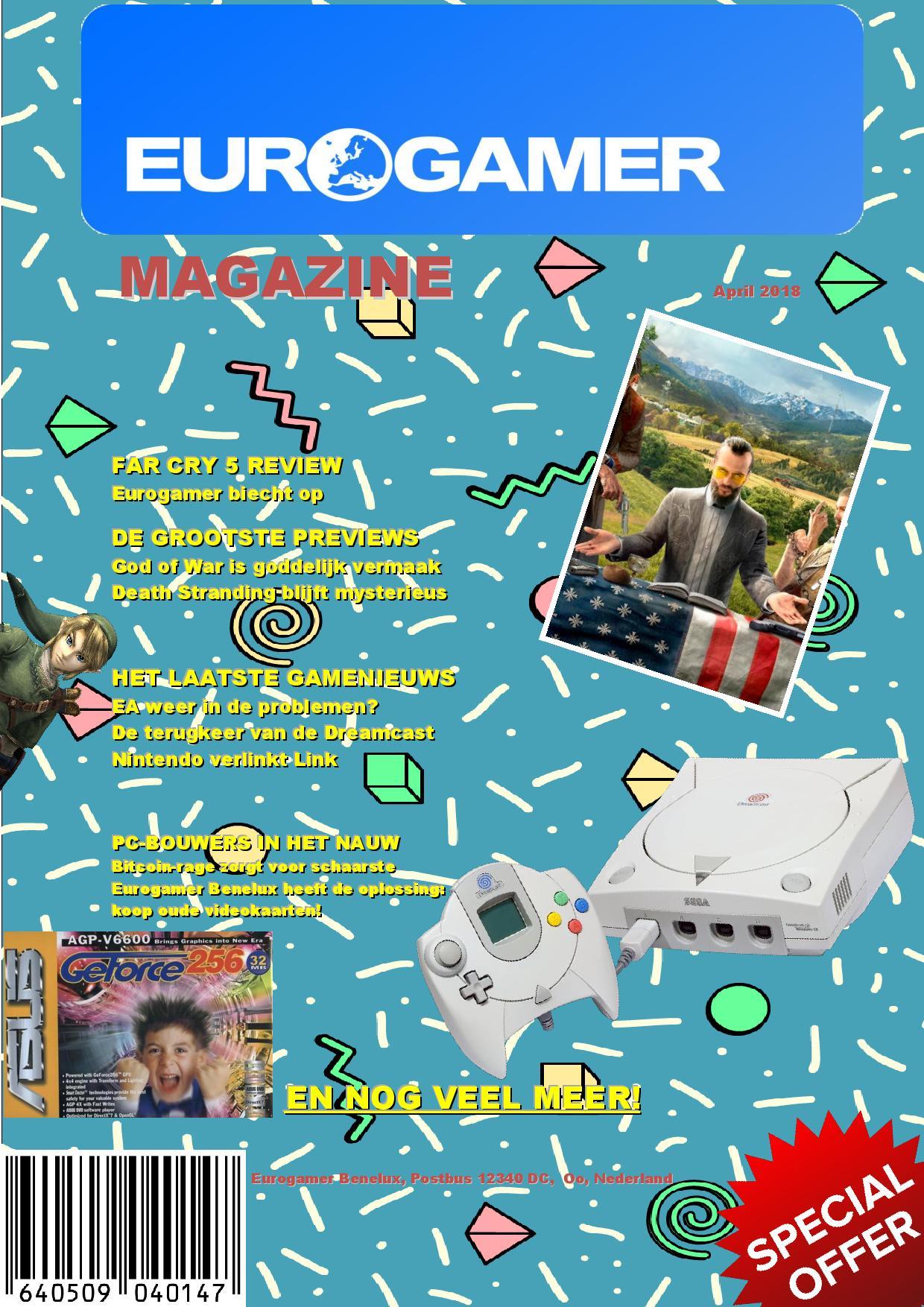 Eurogamer Benelux krijgt een eigen maandblad