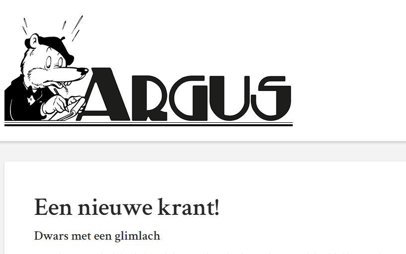 Argus: tijdschrift waar geen peil op te trekken is