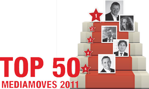 De Top 50 Mediamoves 2011, Mediafacts, MediaFacts