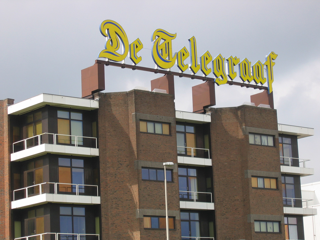 Levende Telegraaf groot succes, Mediafacts, MediaFacts