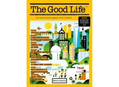 'The Good Life' is eerste hybride magazine, Mediafacts, MediaFacts