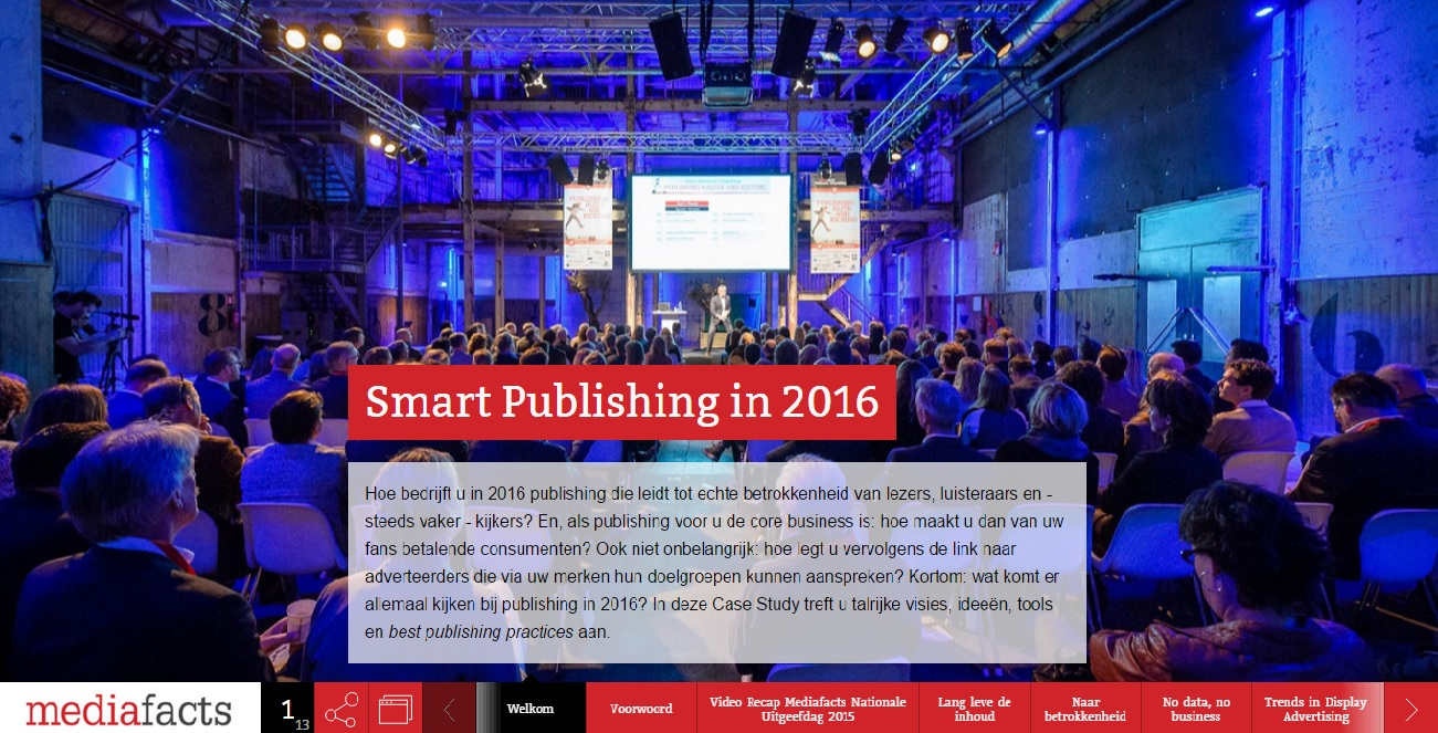 Smart Publishing in 2016