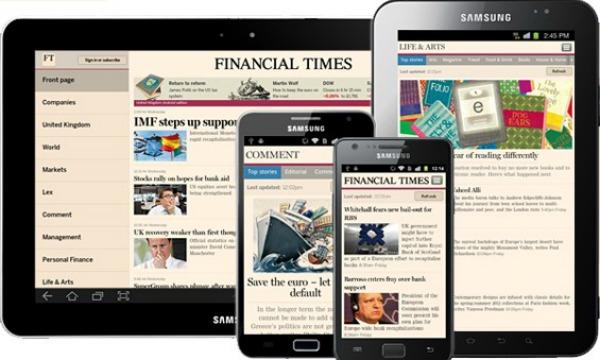 Financial Times naar recordaantal abonnees