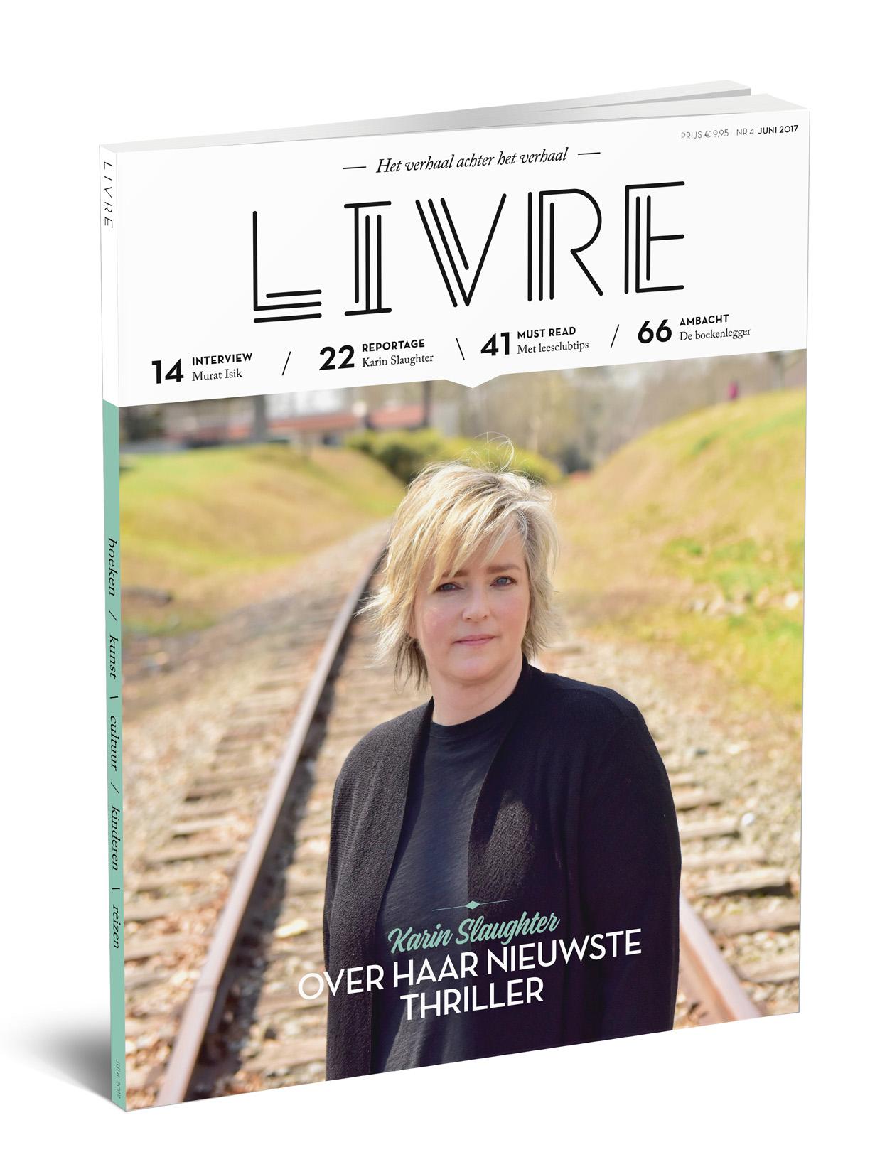 Lancering van een nieuw boekentijdschrift: Livre Magazine