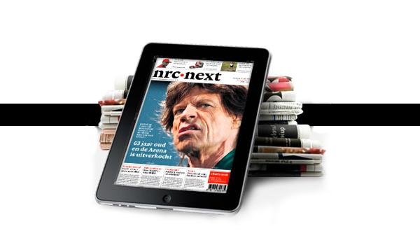 'NRC moet niet openen als vrouwenblad', Mediafacts, MediaFacts