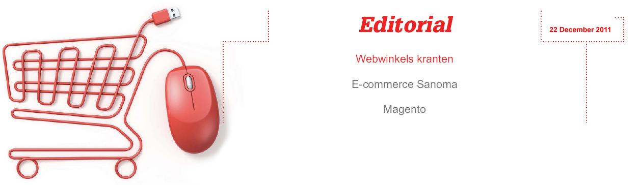 E-commerce speerpunt van krantenuitgevers