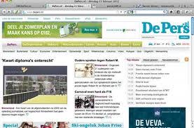 Bezoekersaantallen dagbladsites blijven stijgen, Mediafacts, MediaFacts