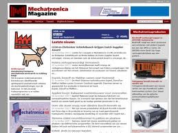 Mechatronica Magazine lijft Machinebouw in, Mediafacts, MediaFacts