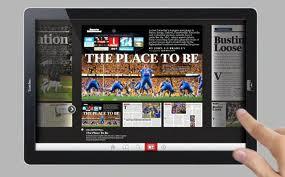 Digital Magazines Popular, Men Hold Edge, Mediafacts, MediaFacts