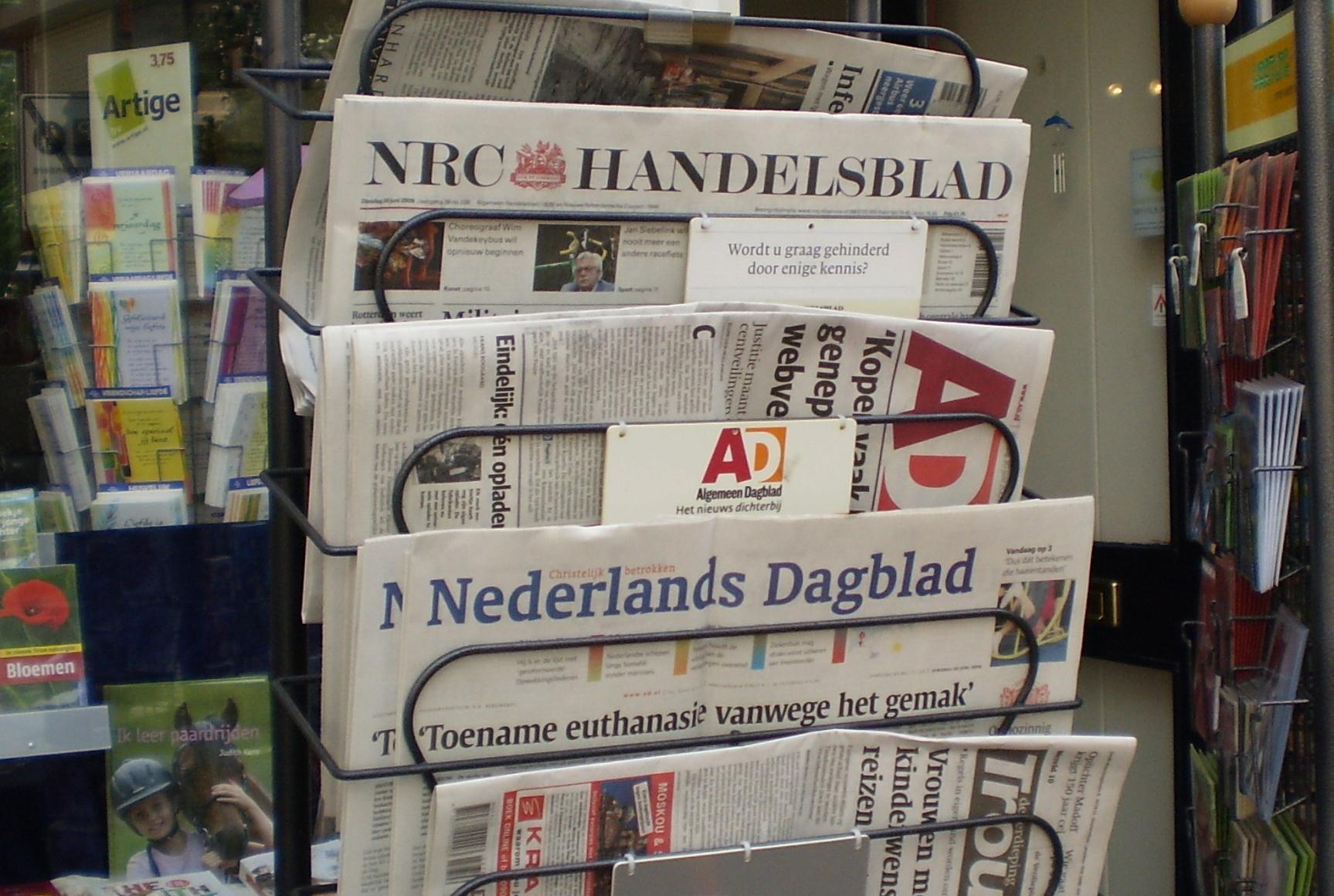 Oplage kranten blijft dalen, Mediafacts, MediaFacts