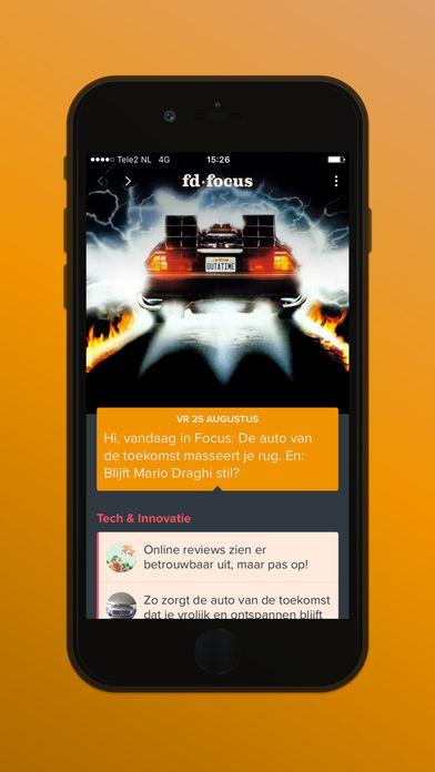 FD lanceert Focus-app voor ambitieuze professionals, Hans van der klis, MediaFacts