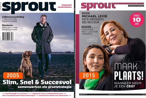 'Starterstijdschrift' Sprout gaat verder als bookazine, Hans van der klis, MediaFacts