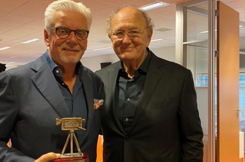 Omroep MAX-baas Jan Slagter ontvangt Media Oeuvre Award 2019