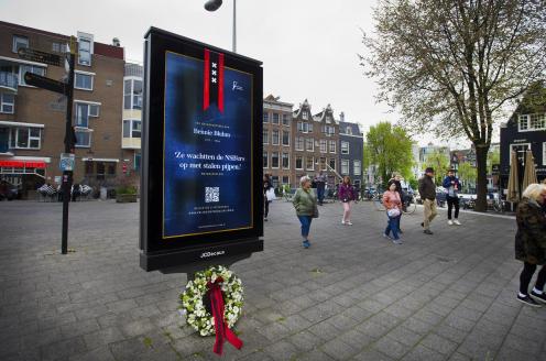 Digitale abri's veranderen op 4 mei in herdenkingsmonument