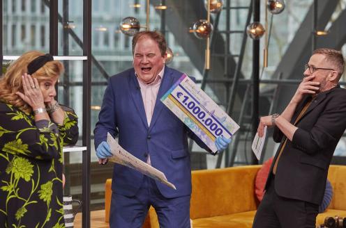 Beeld en Geluid ontvangt 1 miljoen van BankGiro Loterij voor nieuw media-museum