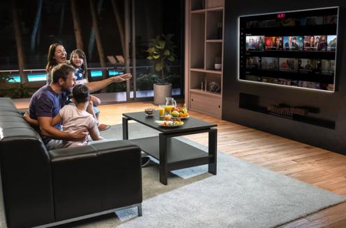 Groeiend aantal tv-kijkers zonder vaste tv-aansluiting