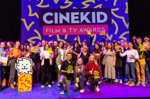 Winnaars Cinekid Film & TV Awards en Beste MediaLab Project bekend