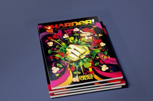 Tante Rikie breidt media-imperium uit: Zwarte Cross-glossy Harder! Magazine