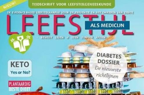 Tijdschrift voor leefstijlgeneeskunde richt zich op het gezonde leven van de toekomst.