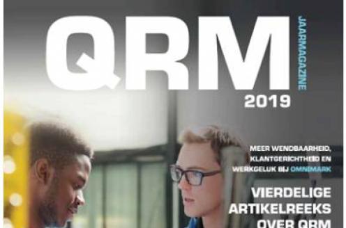 De allereerste uitgave van een QRM Magazine is een feit