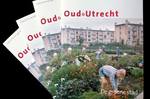 Dubbeldik themanummer 'De groene stad' van Tijdschrift Oud-Utrecht