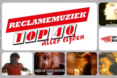Snelle met Interpolis-reclamehit 'Smoorverliefd' op nummer 1 in de Reclamemuziek Top 40 Aller Tijden