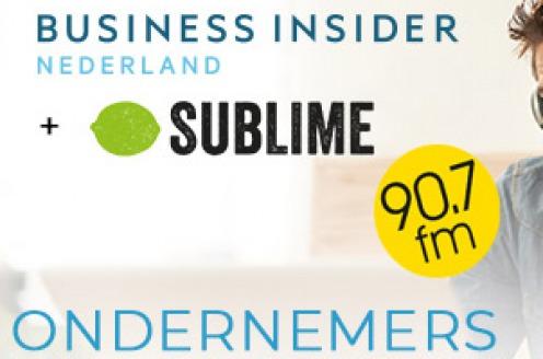 Sublime en Business Insider lanceren zakelijk nieuwsbulletin 'Ondernemers van de Vooruitgang'