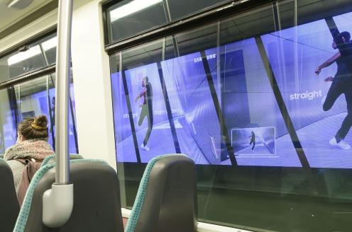 Rotterdamse metro eerste in Nederland met tunnelreclame