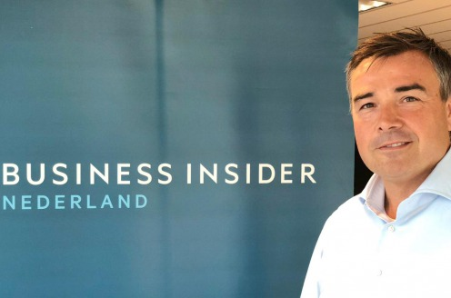 Rik Ruts is per 1 juli de nieuwe Managing Director van Business Insider Nederland